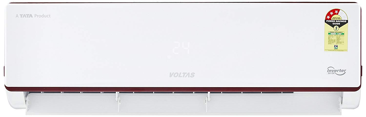 Voltas 1.4 Ton 3 Star Inverter Split AC (Copper 173V JZJ (R32) White)